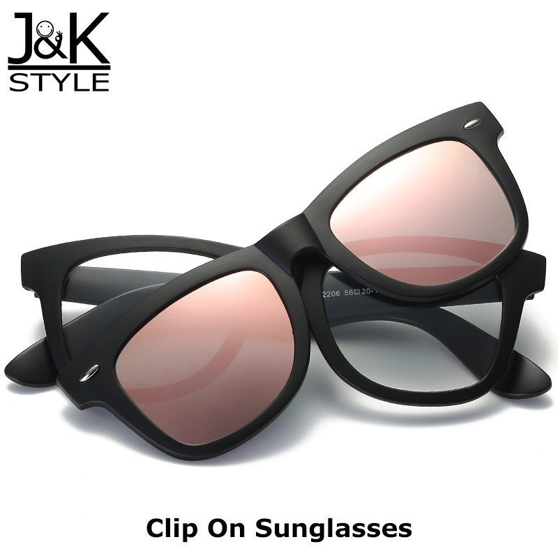 bad1a120a New Arrival Polarized Sunglasses Magnet Detachable Clip on Reading Glasses  Frame Silver Blue Pink Mirror oculos de sol masculino-in Sunglasses from  Apparel ...
