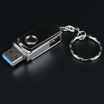 HOT Pen Drive 512GB Metal Sviwel Keychain Gift USB 3.0 Flash Drive 1TB Mini USB Stick Genuine 8gb 16gb 32gb 64gb 128gb Pendrive