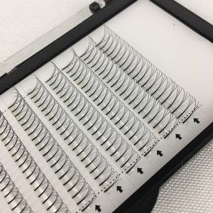 Image 4 - ME.LASH 20 Trays/lot Wholesale C and D Curl 3D Grafted Planting Cluster Eyelashes Korea Premade Fans 9mm to 15mm Free Shipping