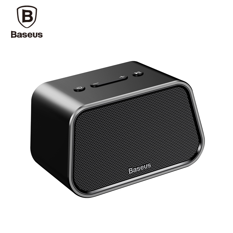 Baseus Bluetooth Speaker For Phone MP3 Laptop Stereo Music Portable Mini Wireless Outdoor Speaker Support TF Card AUX U Disk