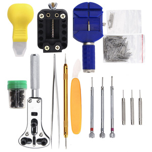 162pcs/set Watch Repair Tool