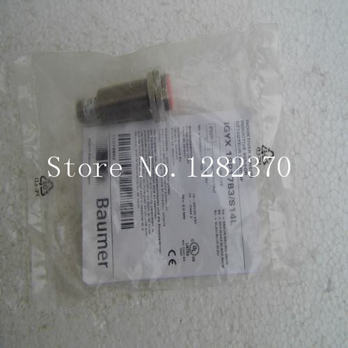 [SA] New original authentic special sales Baumer sensors IGYX 18P17B3 / S14L spot --2PCS/LOT  цены