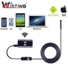 8 мм hd 720 P мини wi-fi эндоскоп для смартфонов камеры android жесткий лен ip67 осмотр эндоскопа наблюдения iphone endoscopio