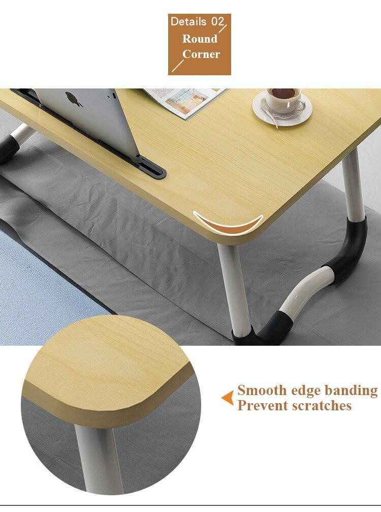 Dobrável portátil suporte ergonômico cama portátil notebook