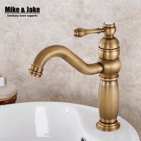 Bathroom Faucet Antique Single Handle Bathroom Sink Mixer Faucet Antique Bronze High Quality Hot And Cold