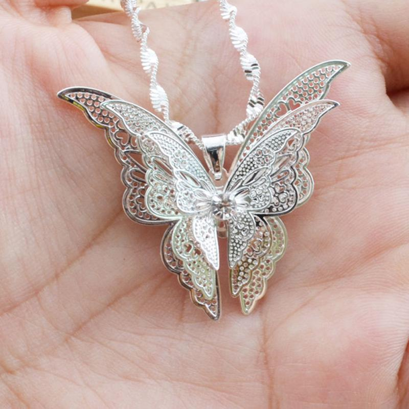 CS-DB Womens Necklaces by Silver Pendant Charming Choker Sweet Crystal Charm Girls