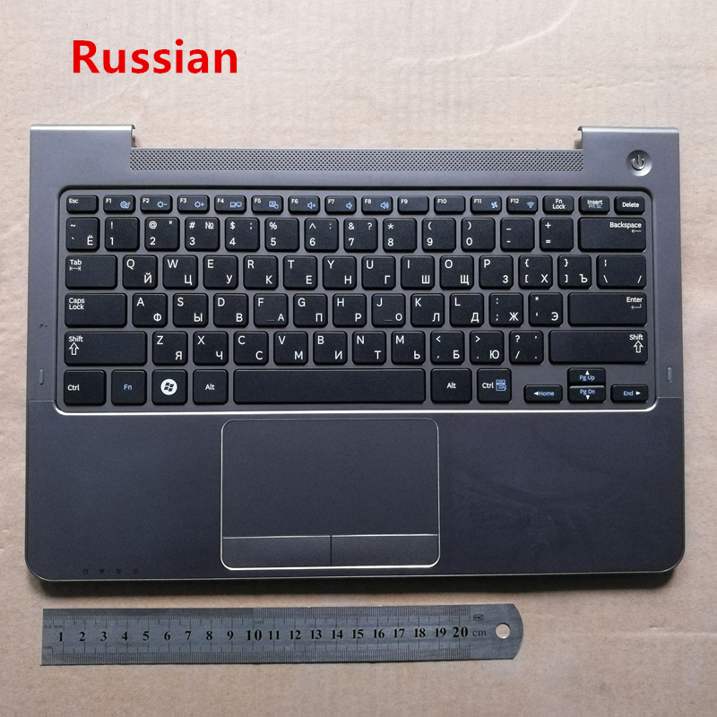 Russian/Korean layout new laptop keyboard with touchpad palmrest for  Samsung np 530u3c 530u3b 535u3c 540u3c 532u3cRussian/Korean layout new laptop keyboard with touchpad palmrest for  Samsung np 530u3c 530u3b 535u3c 540u3c 532u3c