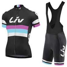 2017 cycling TEAM jersey gel pad bike shorts Ropa Ciclismo quick dry pro women cycling wear bicycle Maillot Culotte