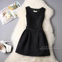 White/Black/Red/Yellow/Blue Slim Patchwork 2015 Women Dress Party Elegant A-Line Mini Casual Dresses Plus Size Sundress Vestidos