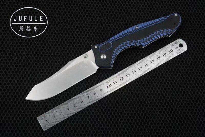 Jufule Made 810 M390 Сталь лезвие G10 Ручка складной Медь шайба охота кемпинг карман Открытый выживания EDC инструмент кухонный нож