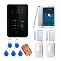 WiFi Wireless IP Camera Home Security Network Camera Remote Wireless Video Intercom Card Password Unlock
