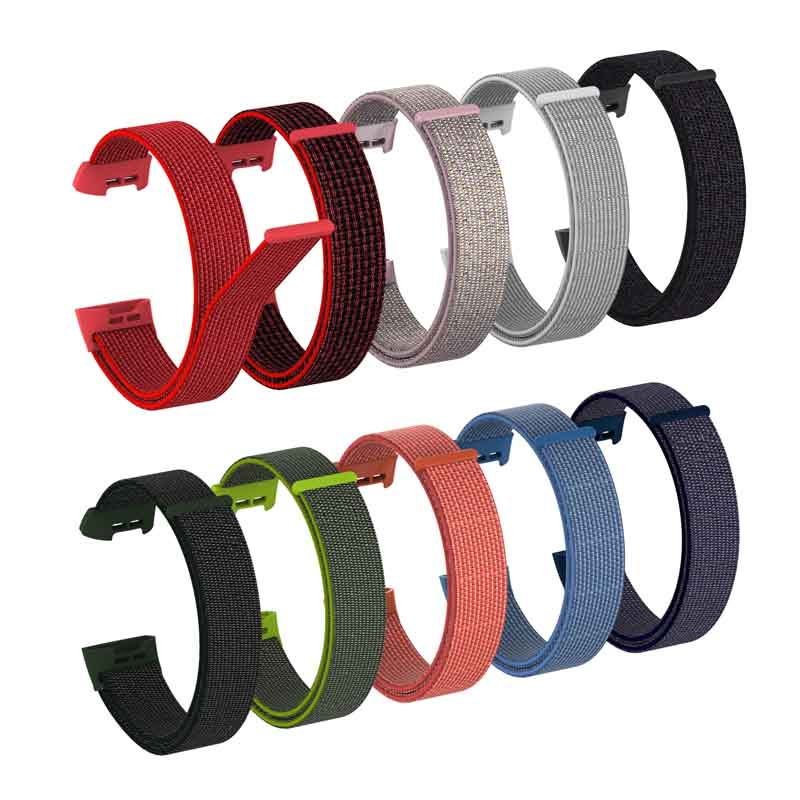 New Nylon Sorrea Strap For Fitbit Charge 3 Band Smart Fitness Bracelet Sports Watch Wristband Belt Wrist Replace Accessories