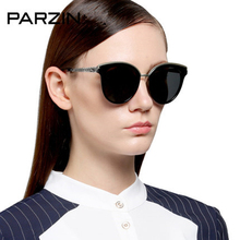 Parzin Polarized Sunglasses Women Elegant Female Sun Glasses Vintage Ladies Driving Mirror New Summer Shades With Case  9882