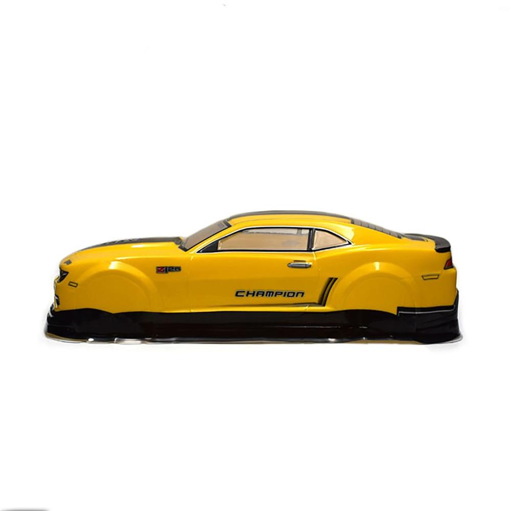 1/10 RC On-Road Drift Car PVC Painted Body-Shell Camaro For TAMIYA TT01  TT02 HPI Rs4 Sprint2 Size 445*190mm Wheel Base 260mm