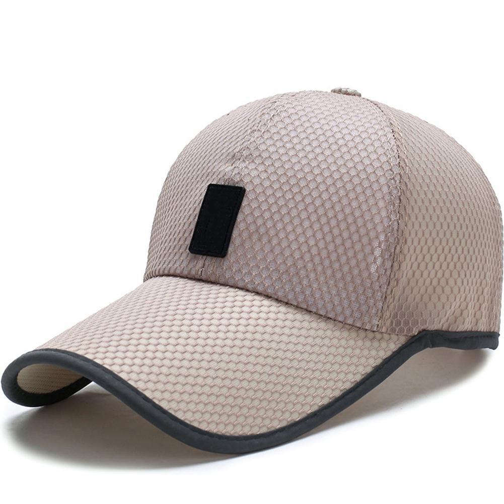 Baseball-Cap Sun-Hat Adjustable Men's Shade Sunscreen Long-Mesh Comfort Outdoor