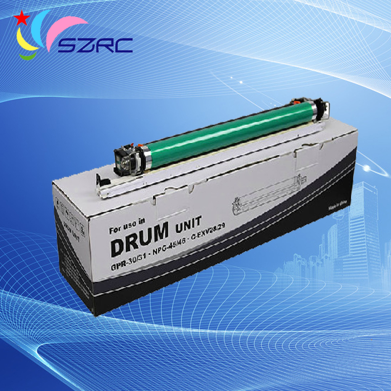 High quality GPR-30 31 NPG-45 46 CEXV28 29 black drum unit compatible for canon C5030 C5035 C5045 C5051 C5235 C5240 C5250 C5255 high quality gpr 18 npg 28 drum unit compatible for canon ir2016 ir2018 ir2020 ir2022 ir2025 ir2030 ir2318l 2016j ir2320 ir2420