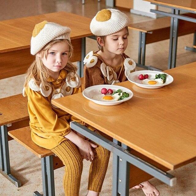 Wimpy kid 1 unids envío gratis bebé chicas lindas de lana sombreros ...
