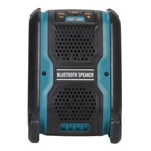 Image 3 - Altavoz MP3 con Bluetooth y batería de ion de litio, amplificador de altavoz, 15W, para Dewalt, Makita, Bosch, Milwaukee, 14,4 V, 18V