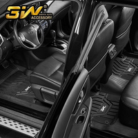 Car floor mats For Nissan SYLPHY with 3w Customized Special tpe mat,black