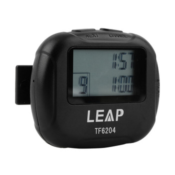 Interval Timer Sports Crossfit Boxing Yoga Segment Stopwatch TF6204 Black Interval Eletronic Timer Chronograph Promotion Sale 2