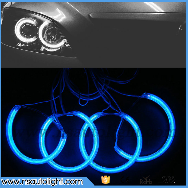 CCFL car head lamp angel eyes for projector lens halo ring light 12V DC ccfl angel eyes ring headlight for Mazda 3 Free Shipping футболка классическая printio hip hop time