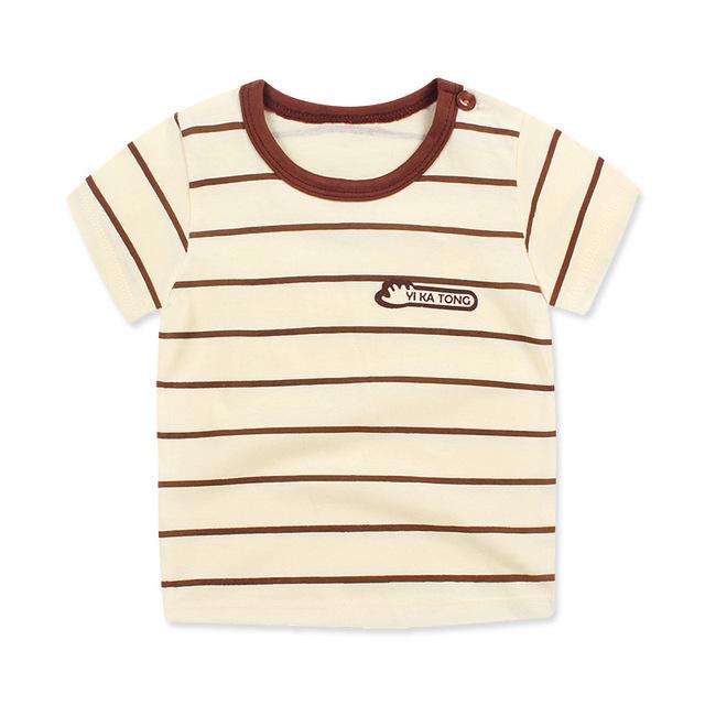 Short Sleeve Baby Girl Cotton Fashion T-shirt
