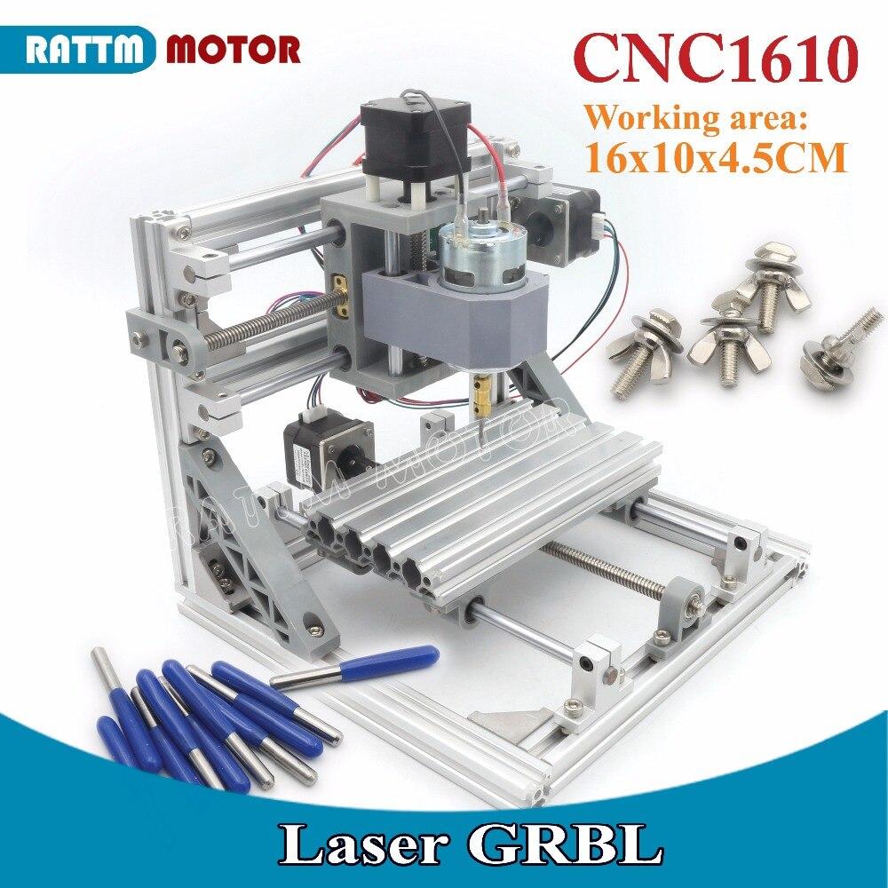 Лазерный станок с управлением GRBL, 1610 + ER11, 160x100x45 мм
