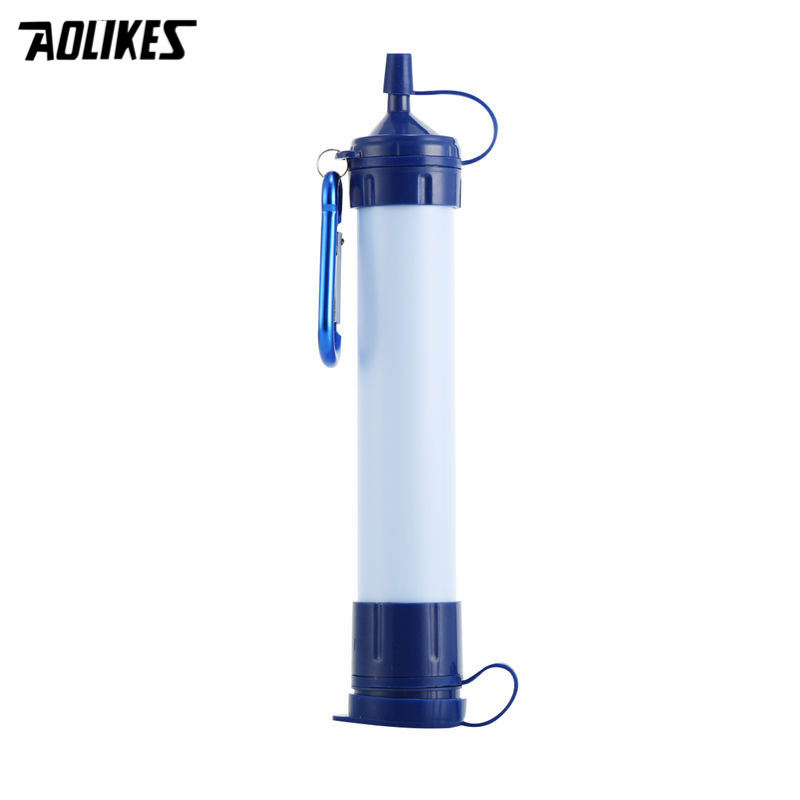 New Portable ABS Plastic Water Filter Camping Hiking Pressure Purifier Cleaner Outdoor W ...