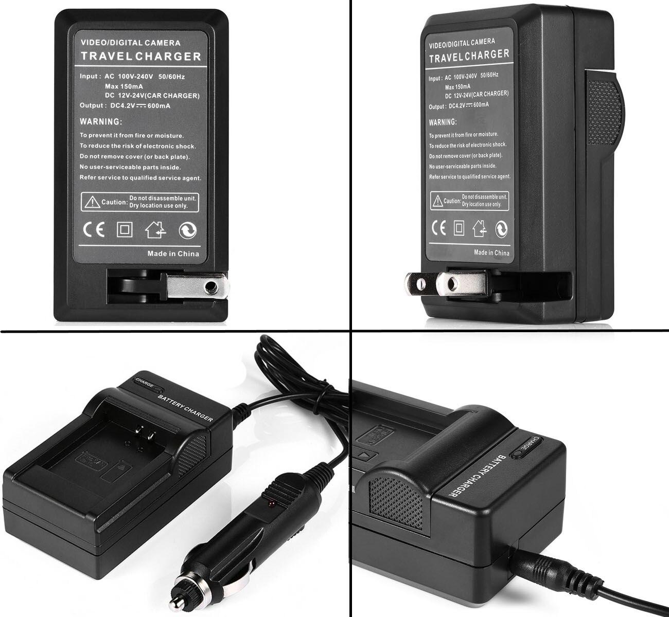 AKKU LADEGERÄT für Sony HDR CX520VE HDR SR37 HDR SR37E DSC