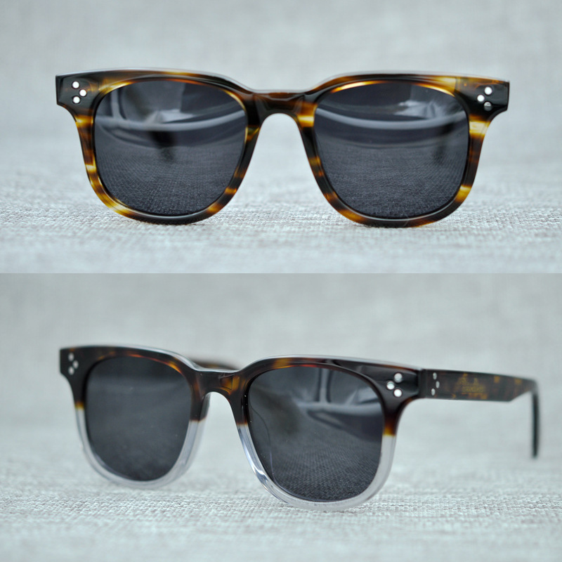 2018 New Arrival OLIVER PEOPLES Sunglasses For Men Women OV5236 Top Quality Round Vintage Sun Glasses Polarized Zonnebril Mannen