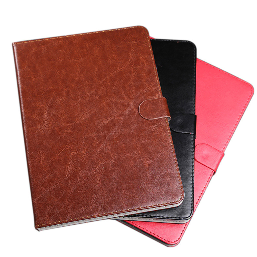 Business Luxury Leather Cover Case for Ipad Air 2/Ipad 6 Auto Sleep/Wake Up Kids Safe Smart Cover for Apple Ipad 6+Stylus Pen