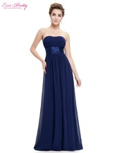 Long Evening Dresses Strapless