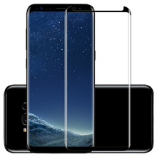 Curved 3D Cover Tempered Glass For SamsungS8 S8Plus S9 S9Plu