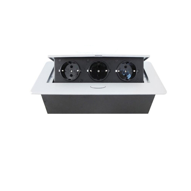 European Plugs V V A Damped Pop Up Socket Multifunctional - Conference table pop up outlets