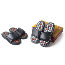1 Pair Acupressure Points Massage Shoes Acupuncture Reflexology Slippers Pain Relief Foot Relaxation Healthy Care Shoes acupuncture reflex foot massage slippers point massage shoes health slippers men s and women s relaxation size l gess gessmarket