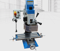 BF20 220V-700W Small-scale Multi-purpose Rotary Drilling and Milling Machine Tool for Household Woodworking Industry