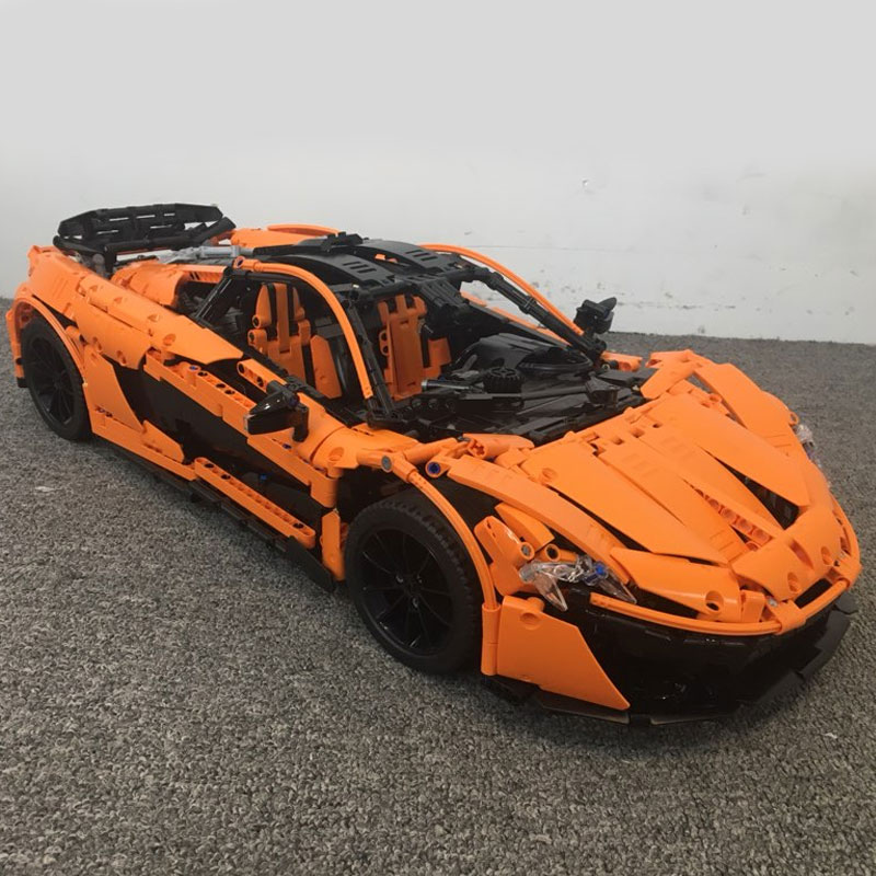 DHL Lepin 20087 Technic Series The MOC-16915 Orange Super Car Set Building Blocks Bricks Car Toys Model as Kids Christmas Gift
