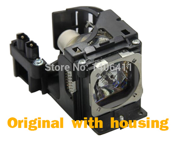 Hally&Son Free shipping Projector Lamp for PLC-XU84 PLC-XU86 PLC-XU87 projector Genuine OEM Bulb with housing free shipping ls5000 sp5000 for original projector lamp genuine oem
