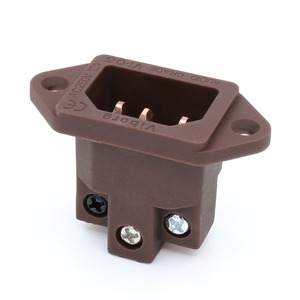 Image 4 - Viborg VI 06CC ses sınıfı saf kırmızı bakır IEC AC giriş IEC soket fişler jack