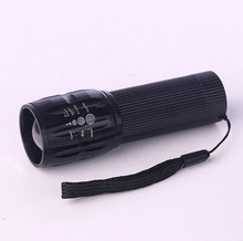 CREE LED Q5 Adjustable Focus Mini Tactical Flashlight Torch Zoomable Small Flashlight Super Bright 3 modes by 3*AAA Batteries