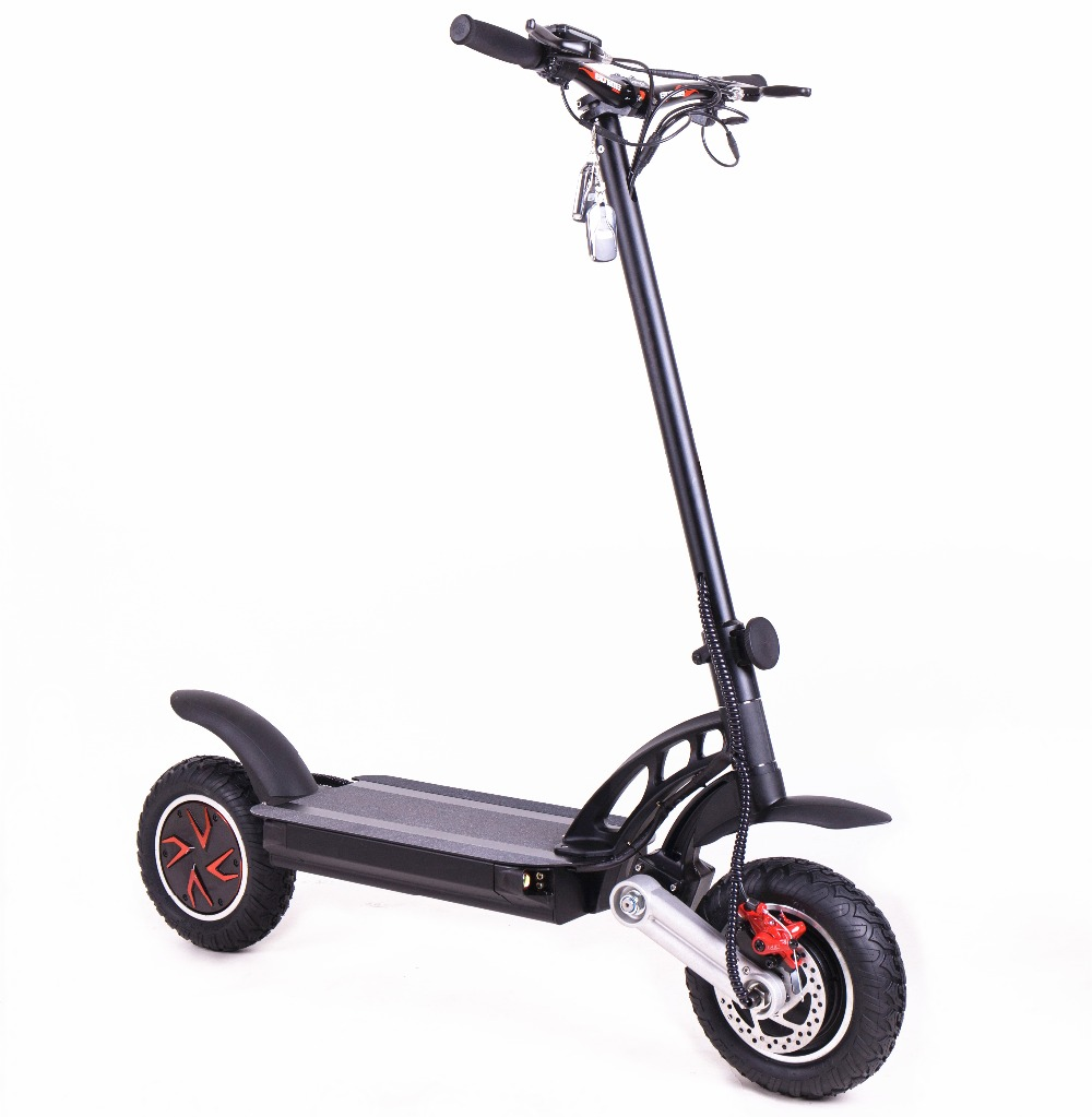 KWHEEL S12 48V 20AH Lithium Battery Electric Scooter Dual Motors 2400W E-scooter