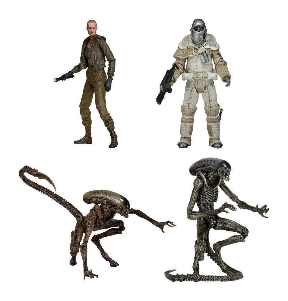"""New NECA <font><b>Aliens</b></font> <font><b>Series</b></font> <font><b>8</b></font> Weyland Yutani Commando <font><b>Dog</b></font> <font><b>Alien</b></font> Ellen Ripley <font><b>Action</b></font> <font><b>Figure</b></font> 7"""""""