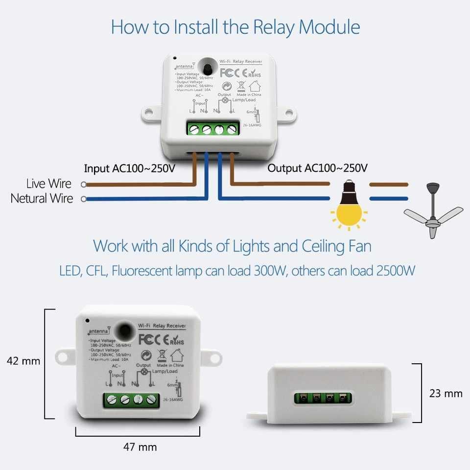 Inteligentny zegarek Wi-Fi moduł Mini gniazdo sterownik 110 V 240 V 2500 W wyłącznik czasowy sterowania głosem wsparcie Alexa Google IFTTT inteligentny życie