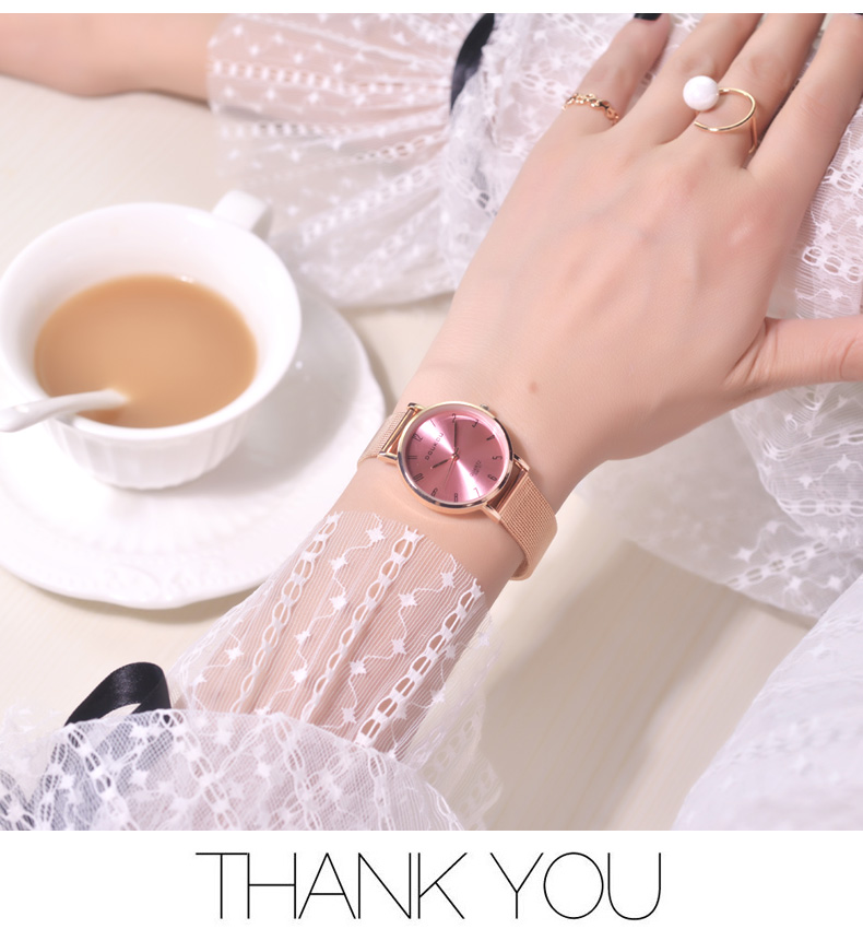 Rose Gold Watch Women Watches Ladies Stainless Steel Women 39 s Bracelet Watches Female Clock Relogio Feminino Montre Femme 2019 in Women 39 s Watches from Watches