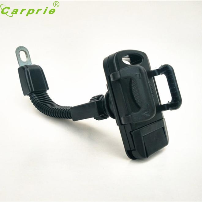 Auto Universal Motorcycle <font><b>Scooter</b></font> 360 degree Adjustable Stand <font><b>Holder</b></font> Mount Cell <font><b>Phone</b></font> GPS Rearview Mirror Mount <font><b>Holder</b></font> Dec16