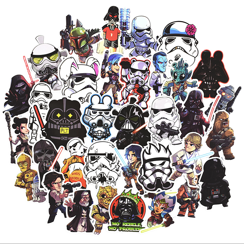 цена на Hot 100 Pcs Anime Stickers for Laptop Skateboard Motorcycle Home Decor Car Styling Vinyl Decals Doodle Cool DIY Sticker