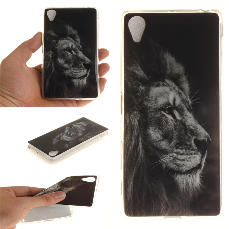 Soft TPU+IMD For Sony Xperia X Performance Case Back Cover sex girl lion tiger owl Coque Funda For Sony Xperia X Performance