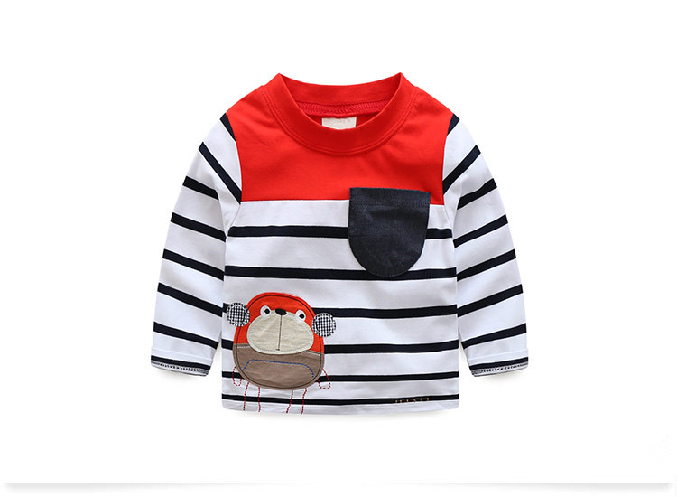 HTB1e gtRVXXXXXzXXXXq6xXFXXX7 - VIDMID boys t-shirt long sleeves children's t-shirts autumn cartoon kids shirts for boys clothes cotton baby clothes boy t-shirt
