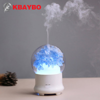 100ml Ultrasonic Aromatherapy Diffuser Wood Grain Ultrasonic Cool Mist Humidifier For Office Home Bedroom Living Room
