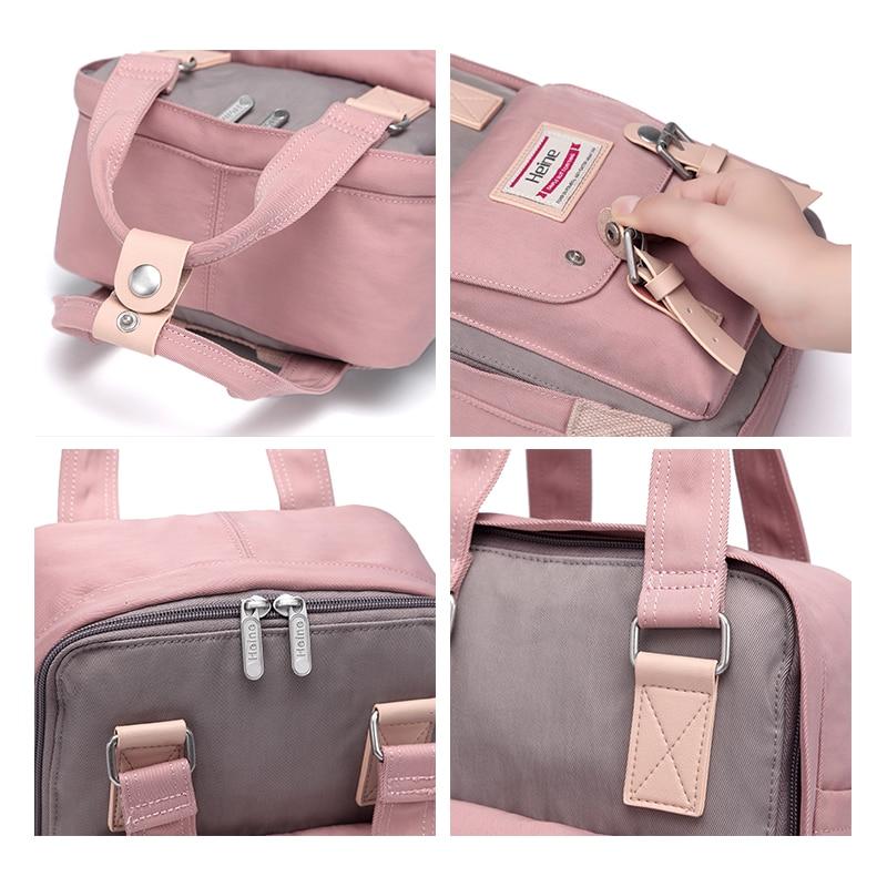 Heine Big Nylon Mummy Diaper Bag Baby Care Travel Nappy Changing - Pañales y entrenamiento para ir al baño - foto 5